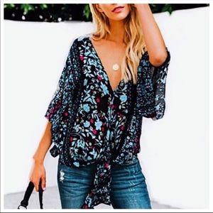 Kimono blouse from Colima Couture Boutique